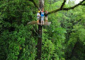 Monteverde - aventuras en zipline